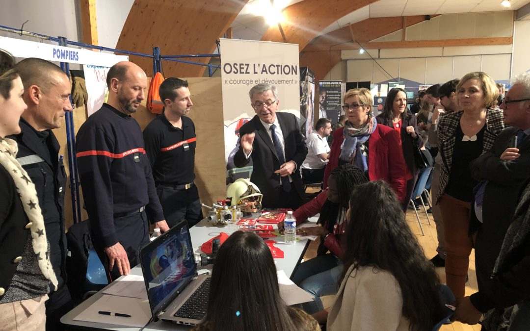 Le forum de l'orientation de Gien a accueilli plus de 1200 élèves